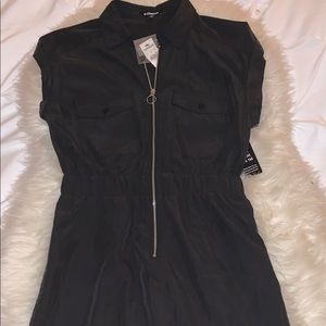 Express zip up dress